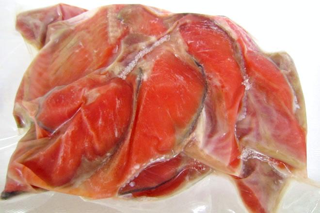 天然紅鮭のカマ